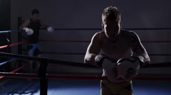 Mixed Martial Arts - Beginning of Match Stock Footage