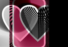 heart illustration - stock illustration
