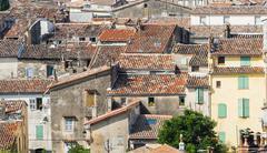 draguignan - stock photo