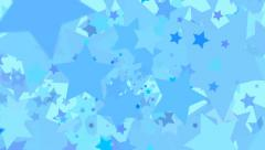 Animated stars background - stock footage