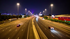 Melbourne Freeway - stock footage