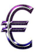 3d silver font - stock illustration