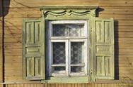 Stock Photo of wooden window