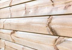 wooden plank wall texture background - stock photo
