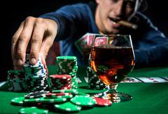 Pokerinpelaaja Kuvituskuvat