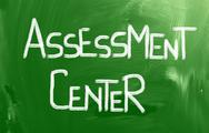 Stock Photo of assessment center concept