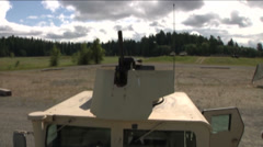 US - Army - MK19 Grenade Launcher 07 Stock Footage