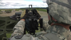 US - Army - MK19 Grenade Launcher 08 Stock Footage