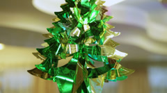 Tree from foil Stock Footage