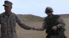 US - Army - Shooting Training 04 Stock Footage