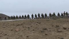 US - Army - Shooting Training 05 Stock Footage