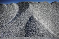 Granite heap in quarry Stock Photos