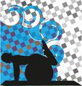 Stock Illustration of yoga illustration