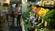 Stock Video Footage of Husband and wife in a grocery store (3 of 9)