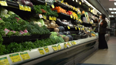 A day at the supermarket (7 of 9) Stock Footage