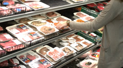 A day at the supermarket (8 of 9) Stock Footage