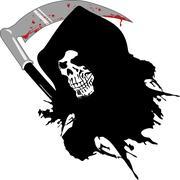 Dead skull Stock Illustration