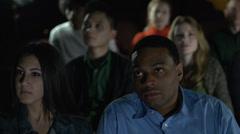 Couple enjoying a movie (1 of 4) - stock footage