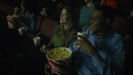 Stock Video Footage of Laughing at the theaters (4 of 7)