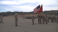 US - Army - Soldiers Awarded Medal 02 Stock Footage