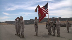 US - Army - Soldiers Awarded Medal 04 Stock Footage