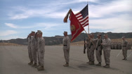 Stock Video Footage of US - Army - Soldiers Awarded Medal 04