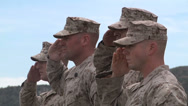 Stock Video Footage of US - Army - Soldiers Awarded Medal 05