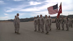 US - Army - Soldiers Awarded Medal 07 Stock Footage