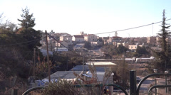Stock Video Footage of west bank settlement Israel