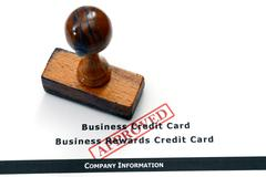 Business form - approved Stock Photos