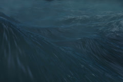Weather Motion Backgrounds Ocean Storm high quality rendering Stock Footage