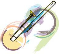 music instrument. vector illustration - stock illustration