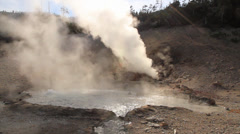 Hot Spring Yellowstone National Park 26s Stock Footage