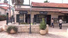 Zichron Yaakov israel Stock Footage