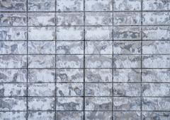 Square brick wall background Stock Photos