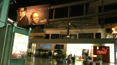 Fashion Mall in Las Vegas on CIRCA 2014. Stock Footage
