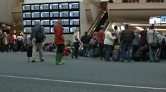 Orlando International Airport warning HD BM 1135 Stock Footage