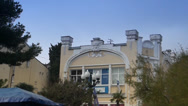 Stock Video Footage of Architectural building is in Yalta