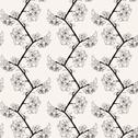 Stock Illustration of elegant seamless pattern with decorative cherry blossoms for your design
