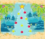 Stock Illustration of abstract christmas tree card