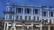 Stock Video Footage of Building and architectural building is in Yalta