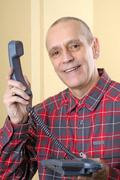 there is a phone call for you - stock photo