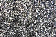Irregular shiny silver texture Stock Photos