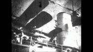 Stock Video Footage of WW2 - Admiral Graf Spee - Hitler Visits Fleet 01