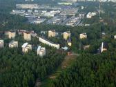 Stock Photo of Aerial view to suburb of Helsinki, Finland