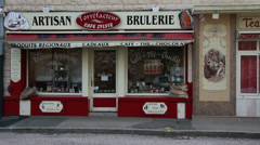 Normandy Artisan Brulerie Stock Footage