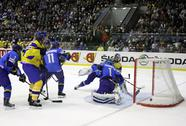 Stock Photo of Ice-hockey game Ukraine vs Kazakhstan