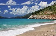 Stock Photo of Adriatic seacoast near Sveti Stefan, Montenegro