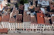 Stock Photo of Market square in a center of Lviv city, Ukraine