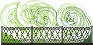 Stock Illustration of decorative lattice illustration